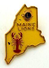 Pin Spilla Lions International Maine Lions cm 2,5 x 3,7