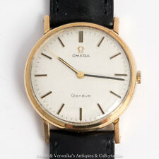 OMEGA Manual 9ct Gold 1972 Calibre 601 - Gents Mans Wrist Watch, Caliber Vintage