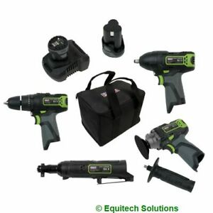 Sealey CP108VCOMBO1 Cordless Combo Kit 10.8V 2 Batteries Drill Impact Wrench