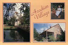 Acadian Village, Lafayette, Louisiana, Cultural Park, New Hope Chapel - Postcard