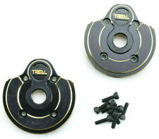 Treal Axial Capra / SCX10 III Brass Outer Portal Cover Set