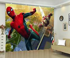 Spiderman 1 Panel Window Panels 3D Digital Print Window Curtains Bedroom Drape