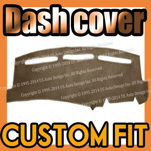 Fits 1995-1999  TOYOTA  PASEO  DASH COVER MAT DASHBOARD PAD /  TAUPE