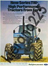 A3 Ford TW15 TW25 TW35 20 Series Vintage Tractor Brochure Poster Leaflet