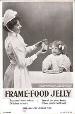 Advertising. Frame-Food Jelly. Nurse-Maid & Girl.