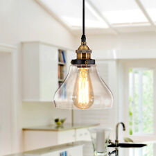 Glass Pendant Lighting Bathroom LED Ceiling Light Modern Chandelier Office Lamp