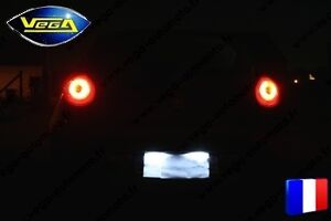 Pack 36 leds SMD blanc xenon PLAQUES IMMATRICULATION Renault Espace 4