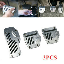 3PCS/Set Car Anti-skid Accelerator Pedal Foot Pedals Pad Cover For Brake Clutch