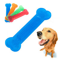 Small Dog's Aggressive Chew Toys Cute Bone Rubber Dog Tooth Cleaning Pet Toy
