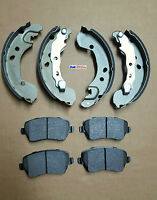 FOR Nissan Micra K12 2002-2009 Front Brake Pads & Rear Brake Shoes Set