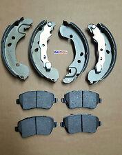 Wear Sensor Comline Front Brake Pads Set Fits Nissan Micra K12 160 SR Exc