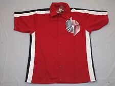 M65 (Dirty) MITCHELL & NESS Portland Trail Blazers Warmup Jacket Jersey MEN'S 46