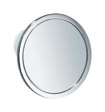 InterDesign 67102 Bathroom Shower Suction Fog-Free Mirror, Chrome
