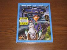 The Adventures of Ichabod and Mr. Toad (Blu-ray/DVD, 2014,2-Disc Set) With Cover