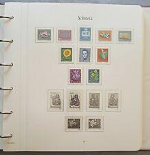 Borek Vordruck Schweiz im Ringbinder 1961-1994