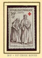 STAMP / TIMBRE DE FRANCE OBLITERE CROIX ROUGE  N° 1141 JACQUES CALLOT