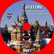 NEW! SYSTEMA UNIQUE COMBAT MARTIAL ART DEFENCE 6 HOURS INSTRUCTION 2 DVD SET