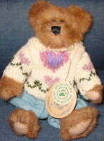 BOYDS BEARS 1997 Edmund T. Bear Plush Teddy MWMT Style #9175 Mint New! BOYD'S