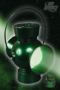 DC COMICS JLA TROPHY ROOM: GREEN LANTERN POWER BATTERY PROP Replica Red Yellow