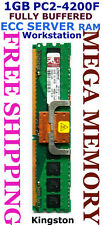 Kingston 1GB DDR2 PC2-4200F FULLY BUFFERED SERVER Memory