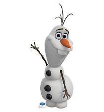 OLAF Disney FROZEN Snowman CARDBOARD CUTOUT Standee Standup Poster Free Shipping
