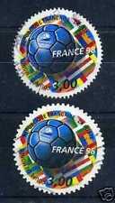 FRANCE - 1997 - yvert 3139/3140 Football - oblitérés