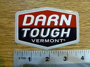 Darn Tough Vermont Sticker Decal