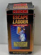 Kidde Emergency Escape Ladder, 13 Ft, 2-Story New Open Damage Box