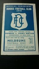 DUNDEE V LEEDS UNITED FAIRS CUP SEMI-FINAL 1/5/1968