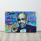 Alec Monopoly Canvas The Godfather Art Picture Wall Art Decor Large Size Framed