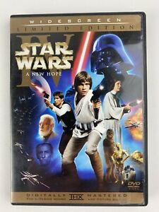 Star Wars: IV A New Hope Theatrical DVD 2-Disc Limited Edition Widescreen