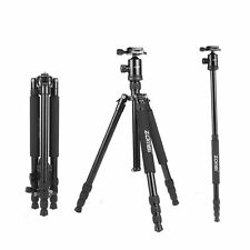 ZOMEI Professional Portable Aluminium Tripod Monopod&Ball Head for DSLR Camera