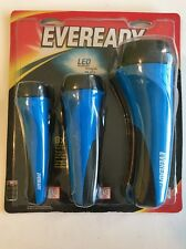 Eveready 2AA/2C/2D LED Flashlight Combo Pack   Model # EVVM2135S 3 PACK