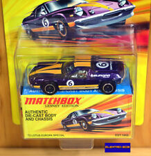 Matchbox '72 Lotus Europa Special [Collector Box] - New/Sealed/XHTF [E-808]
