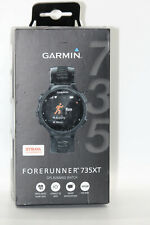 Garmin Forerunner 735XT GPS Multisport Watch - Black/Grey