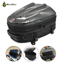 Motorcycle Saddlebag Tail Bag Rear Back Bag Seat Carry Bag Waterproof Backpack
