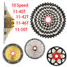 BOLANY Mountain Bicycle Freewheels 10 Speed 11-50T 46T 42T 40T 36T MTB Cassette