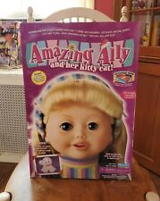MiB 2001 Vintage Amazing Ally & Her Kitty Cat Interactive Doll Playmates