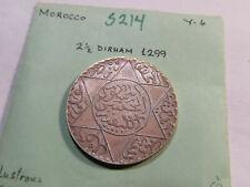 S214 Morocco 1299 2 1/2 Dirhams