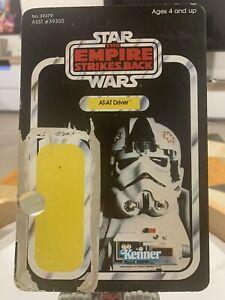 Star Wars vintage cardback - ESB Kenner 41 Back AT-AT Driver - No PoP