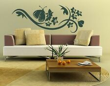 Butterfly Blossom - Highest Quality Wall Decal Sticker