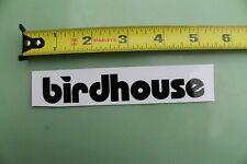 Birdhouse Skateboards Black White Logo Tony Hawk Vintage Skateboarding Sticker