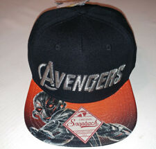 Avengers Age of Ultron Snapback Hat Ultron On Brim Hat Cap Brand New!!!