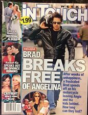 In Touch. July 2007. Brad and Angelina. Rachel Ray