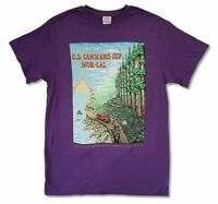 U.S. Cannabis Cup Nor-Cal Purple T Shirt New Official High Times Magazine