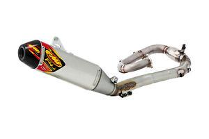FMF Factory-4.1 Exhaust System w/MegaBomb Aluminum/Carbon (045634)