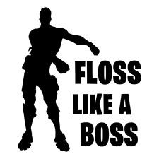 Floss Like a Boss Vinyl Iron on Transfer 10'' High Quality