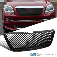 For 07-12 GMC Acadia SUV Mesh Black ABS Front Hood Grille Grill Replacement