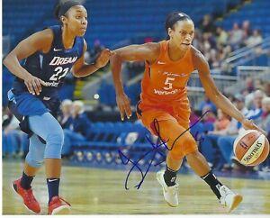 JASMINE THOMAS Signed 8 x 10 Photo WNBA Basketball CONNECTICUT SUN Free Shipping