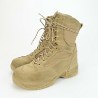 """Danner TFX Desert Tan Roughout 8"""" Hot Weather Military Boots Mens Size 8 EE"""